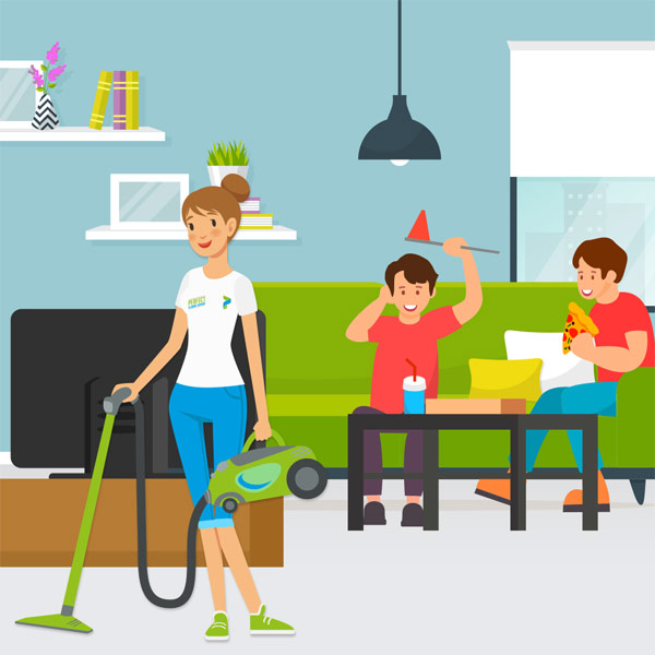 family-home-cleaning-cartoon